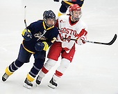 Maxine Baronette (Windsor - 77), Shannon Mahoney (BU - 14) - The Boston University Terriers defeated the visiting University of Windsor Lancers 4-1 in a Saturday afternoon, September 25, 2010, exhibition game at Walter Brown Arena in Boston, MA.