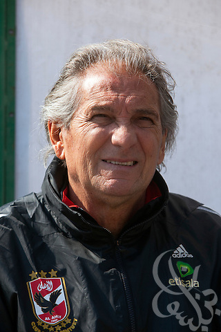 Manuel Jose, (c) the Portuguese Coach of the Egyptian football team Al ...