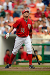 21 May 2006: Ryan Zimmerman, third baseman for the Washington Nationals, at bat against the Baltimore Orioles at RFK Stadium in Washington, DC. The Nationals defeated the Orioles 3-1 to take 2 of 3 games in their first inter-league series...Mandatory Photo Credit: Ed Wolfstein Photo..