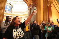 Flint Protest in Lansing