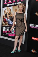 Actress Wendi McLendon-Covey arrives at the premiere of 'What To Expect When You're Expecting' held at Grauman's Chinese Theatre in Hollywood.