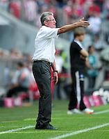 FUSSBALL   1. BUNDESLIGA  SAISON 2011/2012   3. Spieltag FC Bayern Muenchen - Hamburger SV           20.08.2011 Trainer Jupp Heynckes  (FC Bayern Muenchen)