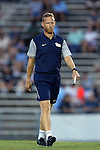 16 September 2016: Pitt assistant coach Michael Behonick. The University of North Carolina Tar Heels hosted the University of Pittsburgh Panthers in Chapel Hill, North Carolina in a 2016 NCAA Division I Men's Soccer match. UNC won the game 1-0.