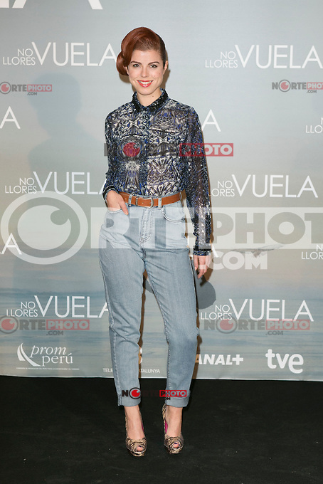 Alba Messa attends Claudia&acute;s Llosa &quot;No Llores Vuela&quot; movie premiere at Callao Cinema, Madrid,  Spain. January 21, 2015.(ALTERPHOTOS/)Carlos Dafonte) /NortePhoto<br />