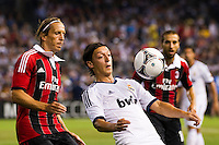 Mesut O?zil (10) of Real Madrid. Real Madrid defeated A. C. Milan 5-1 during a 2012 Herbalife World Football Challenge match at Yankee Stadium in New York, NY, on August 8, 2012.