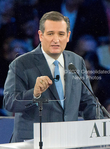United States Senator Ted Cruz (Republican of Texas), a candidate for the Republican Party nomination for President of the United States, speaks at the 2016 AIPAC Policy Conference at the Verizon Center in Washington, DC on Monday March 21, 2016.<br /> Credit: Ron Sachs / CNPUnited States Senator Ted Cruz (Republican of Texas), a candidate for the Republican Party nomination for President of the United States, speaks at the 2016 AIPAC Policy Conference at the Verizon Center in Washington, DC on Monday March 21, 2016.<br /> Credit: Ron Sachs / CNPUnited States Senator Ted Cruz (Republican of Texas), a candidate for the Republican Party nomination for President of the United States, speaks at the 2016 AIPAC Policy Conference at the Verizon Center in Washington, DC on Monday March 21, 2016.<br /> Credit: Ron Sachs / CNP