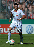 FUSSBALL  DFB POKAL        SAISON 2012/2013 SpVgg Unterchaching - 1. FC Koeln  18.08.2012 Dominic Maroh (1. FC Koeln)