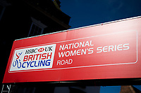 Picture by Alex Whitehead/SWpix.com - 14/05/2017 - Cycling - 2017 HSBC UK | National Women's Road Series - Lincoln Grand Prix - branding.