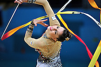 August 29, 2013 - Kiev, Ukraine - CAROLINA RODRIGUEZ of Spain performs at 2013 World Championships.