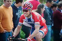 Thor Hushovd (NOR/BMC) up the Taaienberg<br /> <br /> 57th E3 Harelbeke 2014