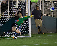 Number one seed Virginia and number two seed UCLA play in the the NCAA Division I Soccer Tournament semifinals at Wakemed Soccer Park in Cary, NC on December 6, 2013.  Penalty kicks.