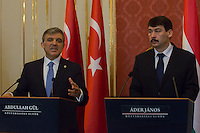 Abdullah Gul turkish visit to Janos Ader