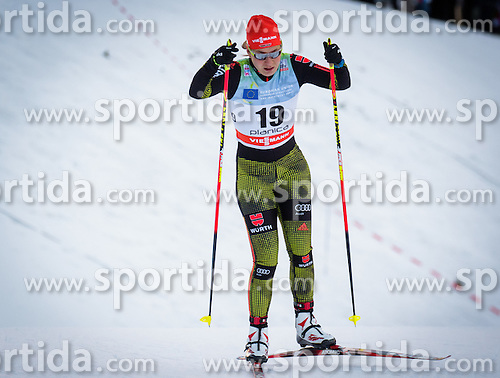 Lucia Anger (GER) during Ladies 1.2 km Free Sprint Qualification race at FIS Cross<br /> Country World Cup Planica 2016, on January 16, 2016 at Planica,Slovenia. Photo by Ziga Zupan / Sportida