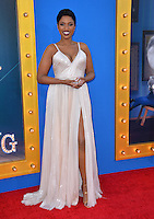 LOS ANGELES, CA. December 3, 2016: Actress Jennifer Hudson at the world premiere of &quot;Sing&quot; at the Microsoft Theatre LA Live.<br /> Picture: Paul Smith/Featureflash/SilverHub 0208 004 5359/ 07711 972644 Editors@silverhubmedia.com