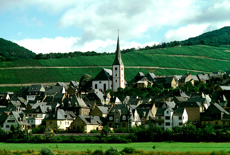 Germany: Wine, Mosel, Village of Burg.  Photo: grroma105.Photo copyright Lee Foster, 510/549-2202, lee@fostertravel.com, www.fostertravel.com