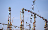 Fussball International FIFA WM 2022 in Katar 21.12.2014 Die Baustelle des Khalifa Stadion, das Stadion wird fuer die WM 2022 umgebaut.
