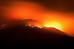 Fire on Buffalo Mountain, Cherokee National Forest