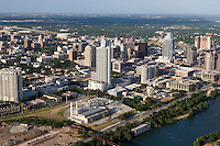 Austin Skyline with Condo towers and State Capitol