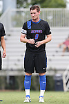 30 August 2015: DePaul's Brian Hindle. The Duke University Blue Devils hosted the DePaul University Blue Demons at Koskinen Stadium in Durham, NC in a 2015 NCAA Division I Men's Soccer match.