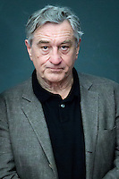 NOV 17 Robert De Niro photo session during the documentary 'The Remembering The Artist Robert De Nir