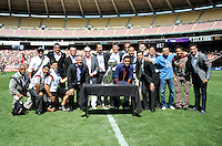 Washington, D.C.- August 31, 2014.  D.C. United defeated The New York Red Bulls 2-0 during a Major League Soccer Match for the 2014 season at RFK Stadium.