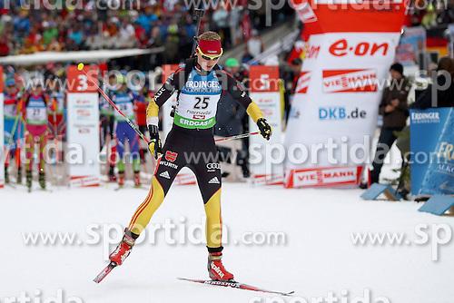 10.12.2011, Biathlonzentrum, Hochfilzen, AUT, E.ON IBU Weltcup, 2. Biathlon, Hochfilzen, Verfolgung Damen, im Bild Hennecke Carolin (GER) // during E.ON IBU World Cup 2th Biathlon, Hochfilzen, Austria on 2011/12/10. EXPA Pictures © 2011. EXPA Pictures © 2011, PhotoCredit: EXPA/ nph/ Straubmeier..***** ATTENTION - OUT OF GER, CRO *****
