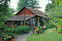 Crow Valley Pottery art gallery on Orcas Island; San Juan Islands, Washington.