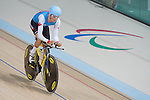 RIO DE JANEIRO - 6/9/2016:  Michael Sametz track cycling training at the Paralympic Village at the Rio 2016 Paralympic Games. (Photo by Matthew Murnaghan/Canadian Paralympic Committee