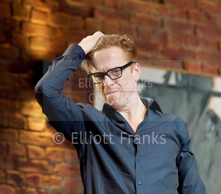 Edward Albee&rsquo;s The Goat or Who is Sylvia <br /> production by Ian Rickson <br /> at The Theatre Royal Haymarket London, Great Britain <br /> 30th March 2017 <br /> press photocall <br /> <br /> <br /> Damian Lewis as Martin  <br /> <br /> <br /> <br /> <br /> Photograph by Elliott Franks <br /> Image licensed to Elliott Franks Photography Services