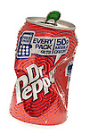 Crushed Can of Dr. Peppers - 2011