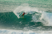 HONOLULU - (Tuesday, November 27, 2012) Mason Ho (HAW). -- The VANS World Cup of Surfing, a ASP Prime Event with$250,000 in prize-money  officially got  underway at Sunset Beach today, with waves in the 5-7 foot range. The second jewel of the $1M VANS Triple Crown of Surfing, the VANS World Cup will require four full days of competition between now and December 6...Winner of the first jewel - the REEF Hawaiian Pro - last week was Sebastian Zietz (HAW). Zietz is seeded through to the round of 64 and will surf on Day 3 of the competition...Surfing today are: Pancho Sullivan (HAW) Nathan Hedge (AUS); Ezekiel Lau (HAW); Ricardo Dos Santos (BRA); Ian Walsh (HAW); Ian Gentil (HAW); Garrett parkes (AUS);  and Mason Ho (HAW) all advanced today.  Photo: joliphotos.com
