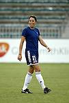 19 July 2003: Julie Foudy. The Carolina Courage defeated the San Diego Spirit 1-0 at SAS Stadium in Cary, NC in a regular season WUSA game.