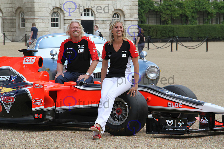 Sir Richard Branson; Holly Branson Virgin Racing - Cars 2 ...