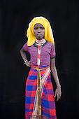 Portrait of a villager in Awash, Afar region in Ethiopia