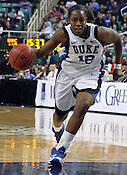 Chelsea Gray goes in for a layup in the second half. This was the Championship game of the 2011 ACC Tournament in Greensboro on March 6, 2011. Duke beat UNC 81-66. (Photo by Al Drago)