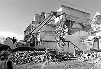 Pembroke College Brewer Street Project, January 2011: Demolition