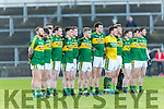 The Kerry team who played Cork in the McGrath cup in Mallow on Sunday