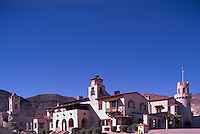 Death Valley National Park, California, CA, USA - Scotty's Castle (aka Death Valley Ranch) in the Grapevine Mountains - Mission Revival / Spanish Colonial Revival Style Architecture