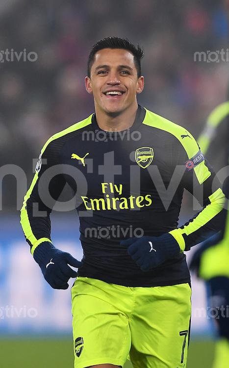 FUSSBALL CHAMPIONS LEAGUE SAISON 2016/2017 GRUPPENPHASE FC Basel - Arsenal London            06.12.2016 Alexis Sanchez (Arsenal)