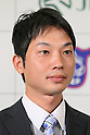 Toshiyuki Tanaka (JPN), May 30, 2012 - Equestrian : Japanese eventing rider Takayuki Yumira ateend press conference about the London 2012 Summer Olympic Games at Hotel Okura in Tokyo, Japan. (Photo by Yusuke Nakanishi/AFLO SPORT) [1090]
