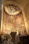 Altar, Old Cathedral, Salamanca, Spain