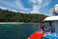 Pulau Payar island and Chinese tourists