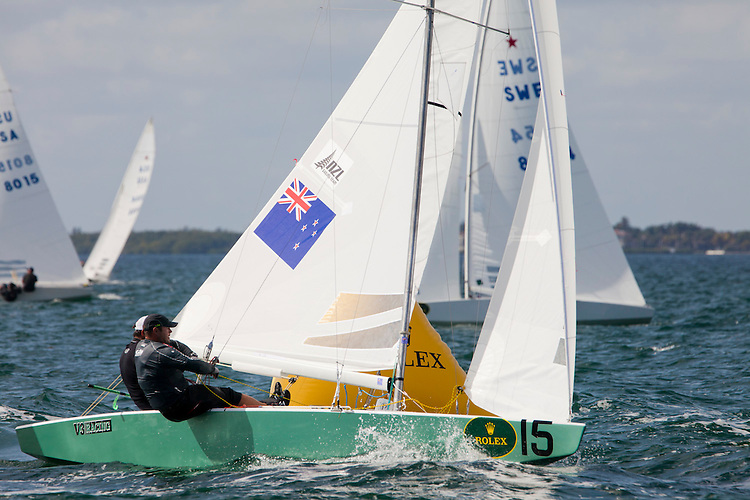 NZL8187, Fleet: Star, Crew: Hamish  Pepper, Jim Turner,  , Country: NZL