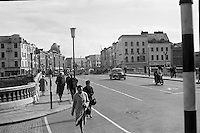 View of Cork City. Patrick's Street from the bridge..26.05.1962