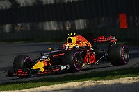 March 26, 2017: Max Verstappen (NDL) #33 from the Red Bull Racing team at the 2017 Australian Formula One Grand Prix at Albert Park, Melbourne, Australia. Photo Sydney Low