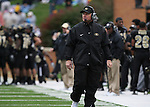 07 October 2006: Wake Forest head coach Jim Grobe. The Clemson University Tigers defeated the Wake Forest University Demon Deacons 27-17 at Groves Stadium in Winston-Salem, North Carolina in an Atlantic Coast Conference NCAA Division I College Football game.