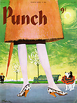 PUNCH Front Covers Cartoons