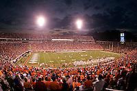 Virginia Cavaliers playing in Scott Stadium at the University of Virginia in Charlottesville, VA. Photo/Andrew Shurtleff.