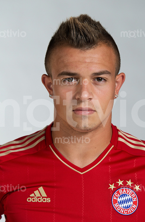 FUSSBALL  1. BUNDESLIGA   SAISON 2012/2013  17.08.2012 Xherdan Shaqiri (FC Bayern Muenchen)
