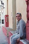 Nobel prize winner Garcia Marquez in Carthagena, Colombia where he used to live.